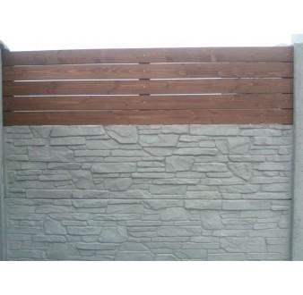 Dřevěná výplň 2x0,5m Prima vodorovná