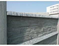 Betonová stříška rovná