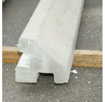 Betonový sloup ROHOVÝ pro jednostranný plot